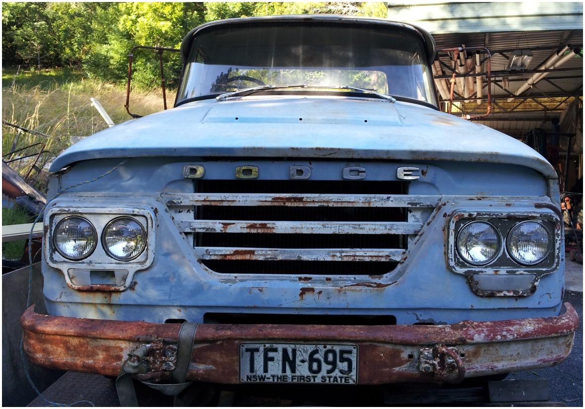 Dodge d5n truck classic 1969 vf valiant convertible hb hillman hunter vc wayfarer utes project