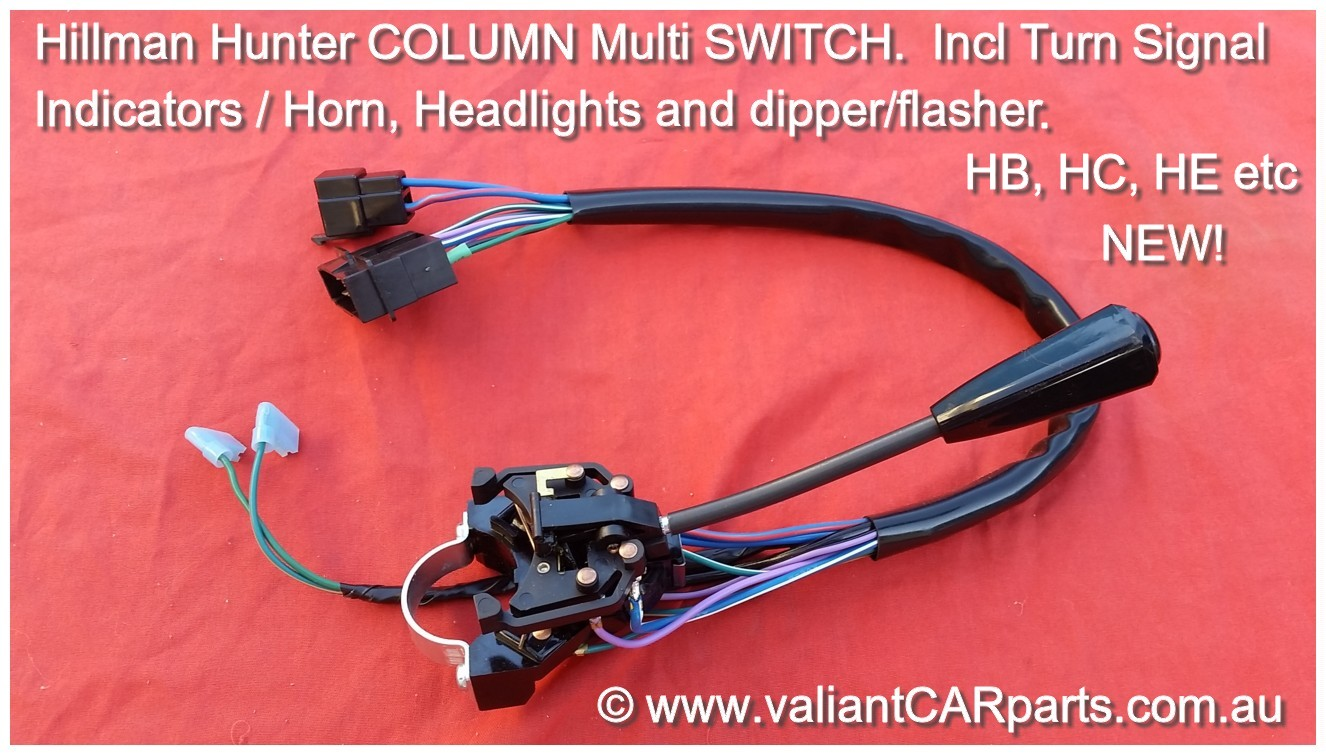 New_Hillman_Hunter-Arrow_turn_signal_indicator_multi_column_switch_stalk-Rootes_Chrysler_HB_HC_HE